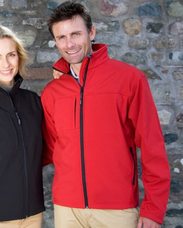 R121M Result Classic Men's Softshell Jacket